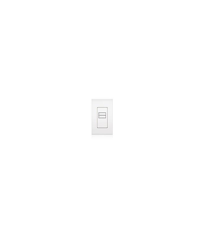 Lutron QSWS2 Control de pared 2 botones con insert WH