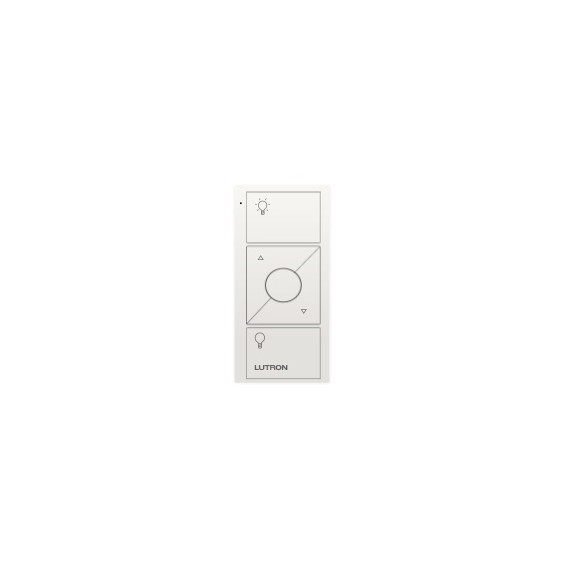 Control Lutron Pico wireless 3 botones + RL  colores brillantes