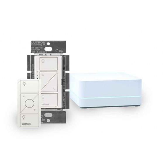 Kit Lutron Caseta Wireless SmartBridge PRO + Atenuador + PICO