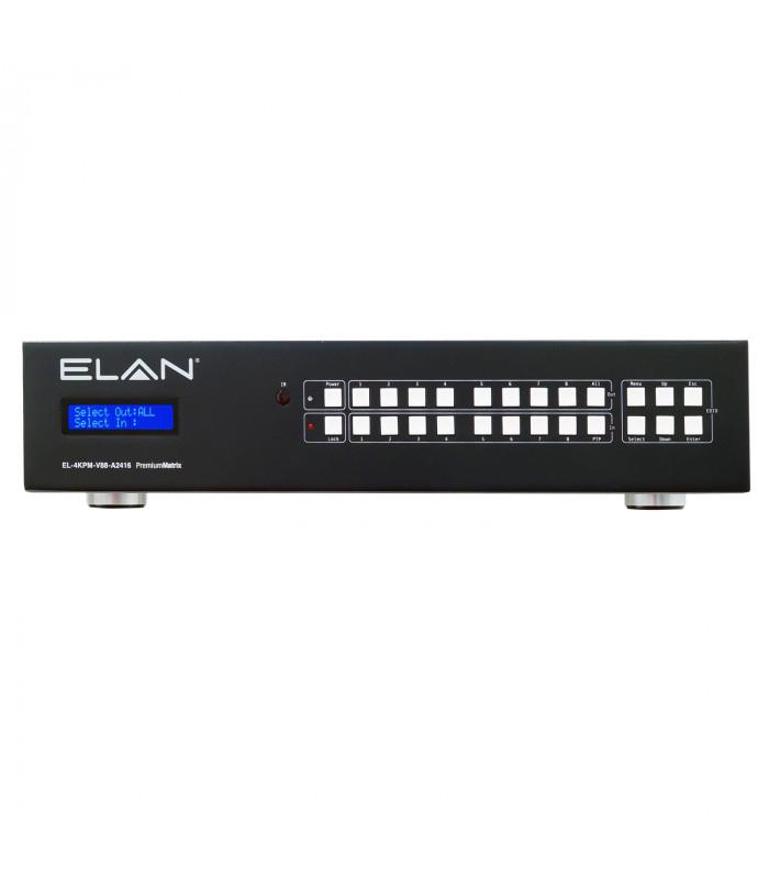 Elan EL-4KPM-V88-A2416  Matrix HDMI UHD 4K