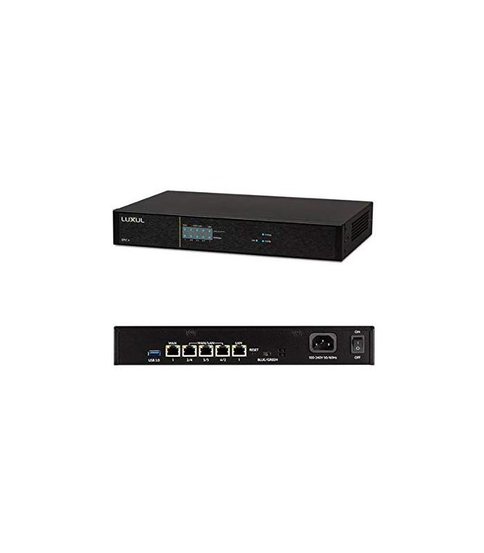 Epic 4 AV Series Multi-WAN Gigabit Router - Ports on Back