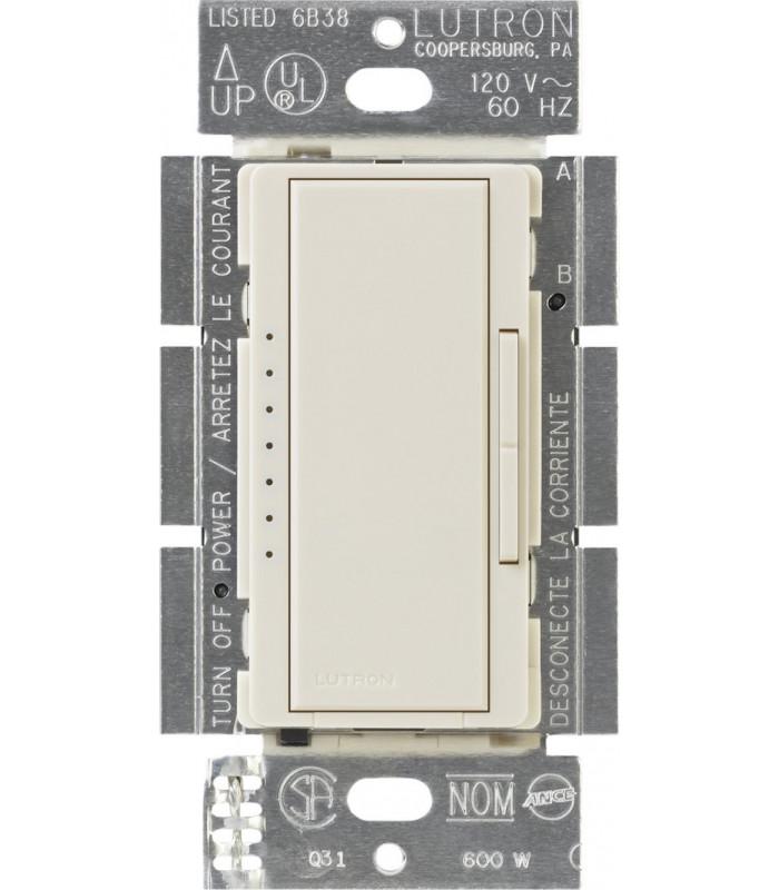 Atenuador Lutron MAESTRO CFL/LED Conmutable 600W