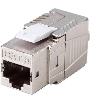 Keystone Jack CAT8 8P8C 22AWG 4 Pares 40G 2Ghz
