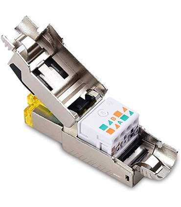 Plug CAT8 8P8C 22AWG 40G 2Ghz