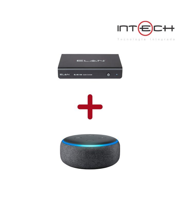 Procesador Elan EL-SC-100 Lleva Gratis Alexa Echo-DOT