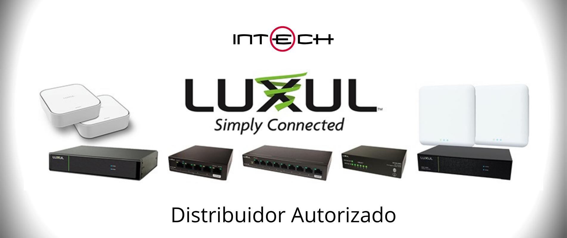 Intech Distribuidor Colombia Luxul